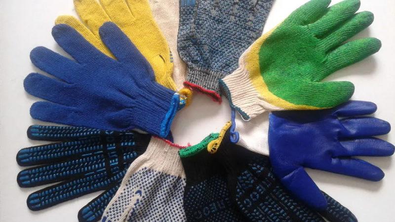 Классы вязки хлопчатобумажных перчаток
